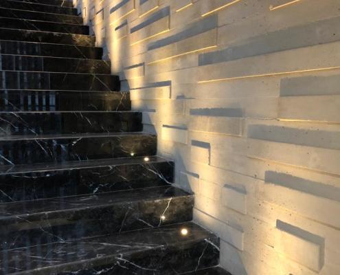 Iluminacion Escalera Interior