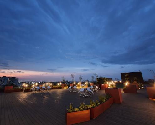 Iluminacion de terraza