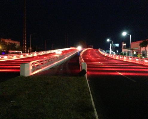 Iluminacion para puente