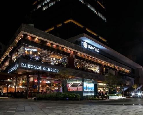 Mercado Andares Fachada